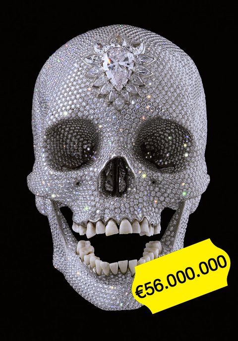 For the love of God, Damien Hirst
